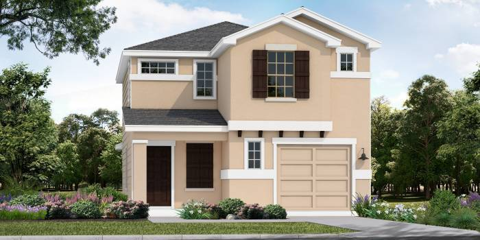 Exterior featured in the Ft. Worth By Laredo - Armadillo Homes in Laredo, TX