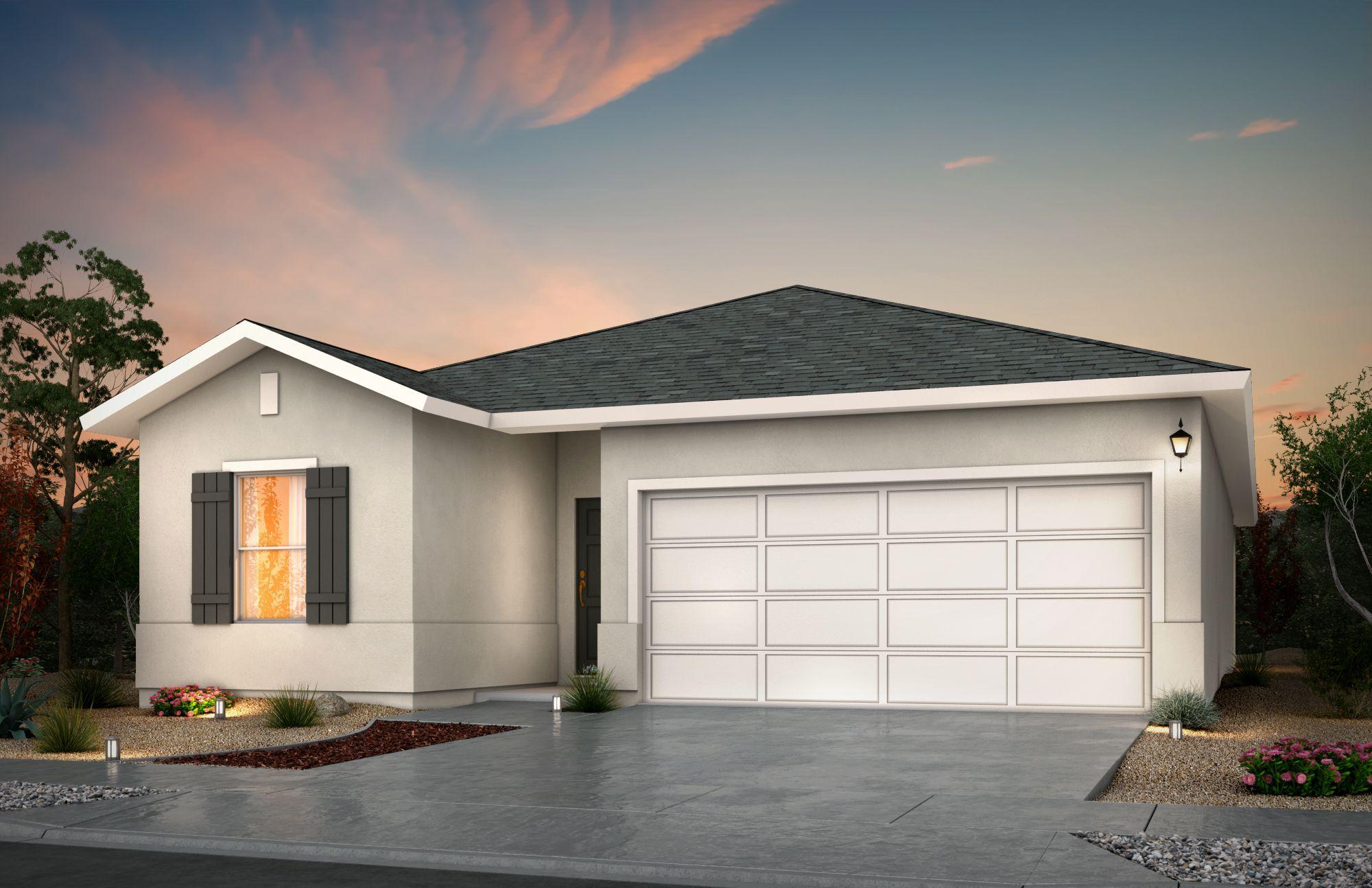 Exterior featured in the Mason By View Homes El Paso in El Paso, TX