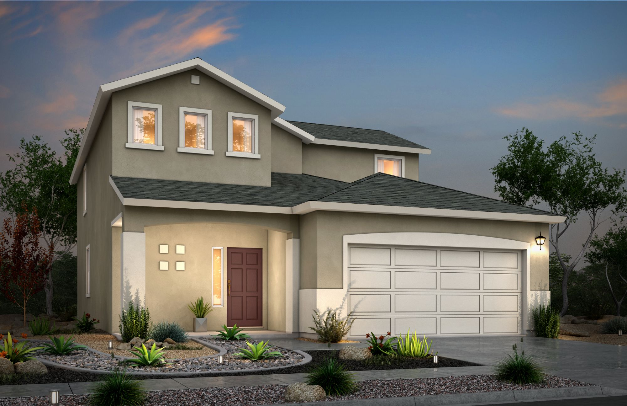 Exterior featured in the Lindale By View Homes El Paso in El Paso, TX