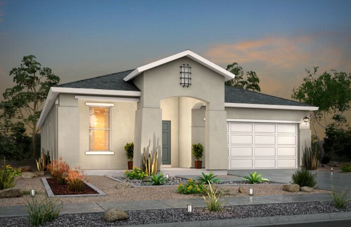 Exterior featured in the Scottsdale II By View Homes El Paso in El Paso, TX