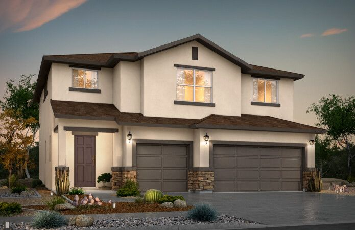 Exterior featured in the Larue By View Homes El Paso in El Paso, TX