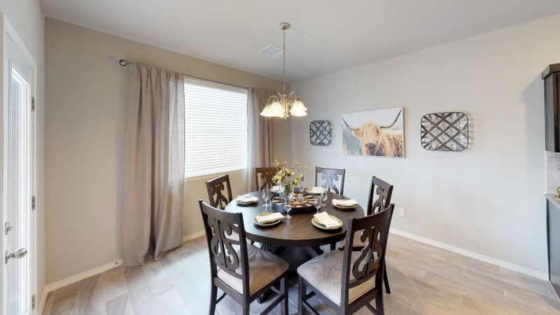 Kitchen featured in the Larue By View Homes El Paso in El Paso, TX