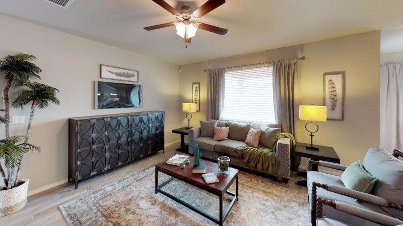 Living Area featured in the Larue By View Homes El Paso in El Paso, TX