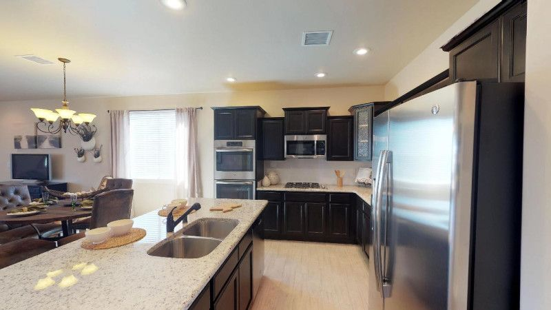 Kitchen featured in the Parker II By View Homes El Paso in El Paso, TX