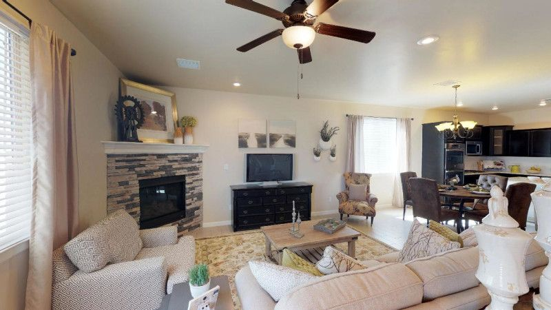 Living Area featured in the Parker II By View Homes El Paso in El Paso, TX