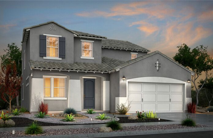 Exterior featured in the Parker II By View Homes El Paso in El Paso, TX