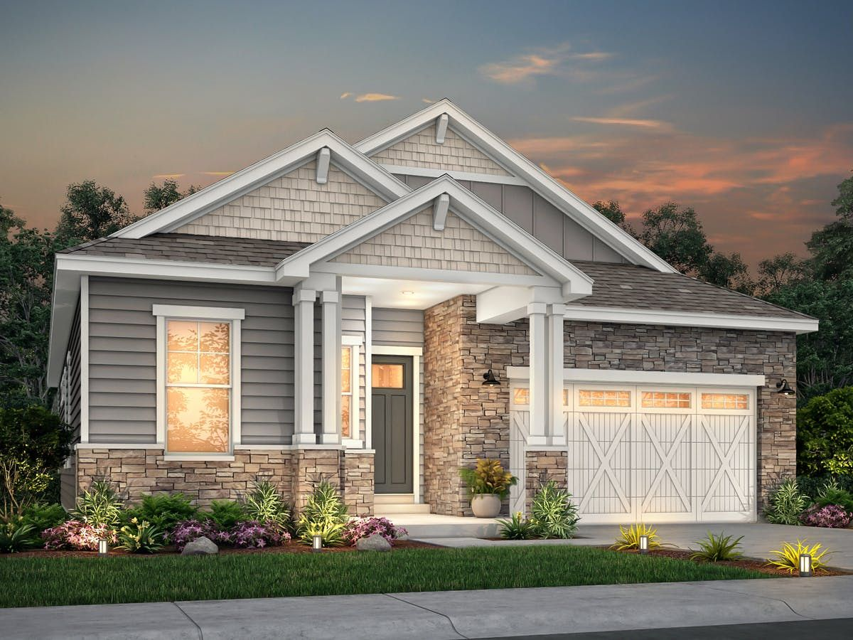 Exterior featured in the Everest By View Homes Colorado Springs in Colorado Springs, CO