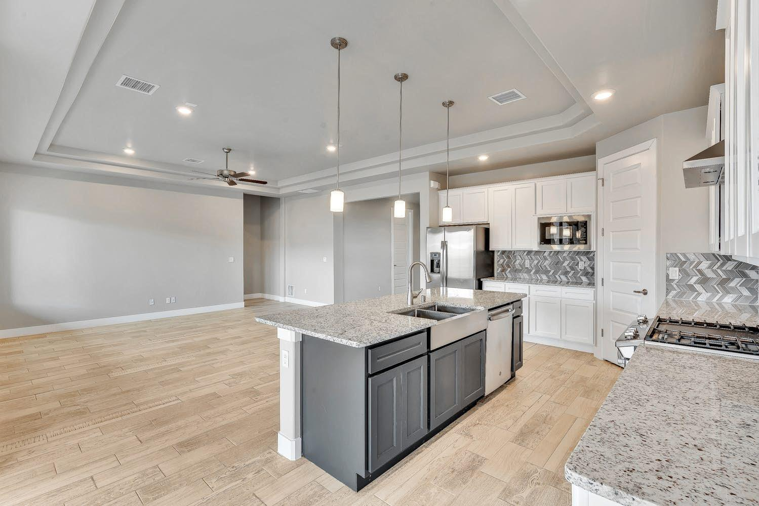 Kitchen featured in the Belize By View Homes El Paso in El Paso, TX