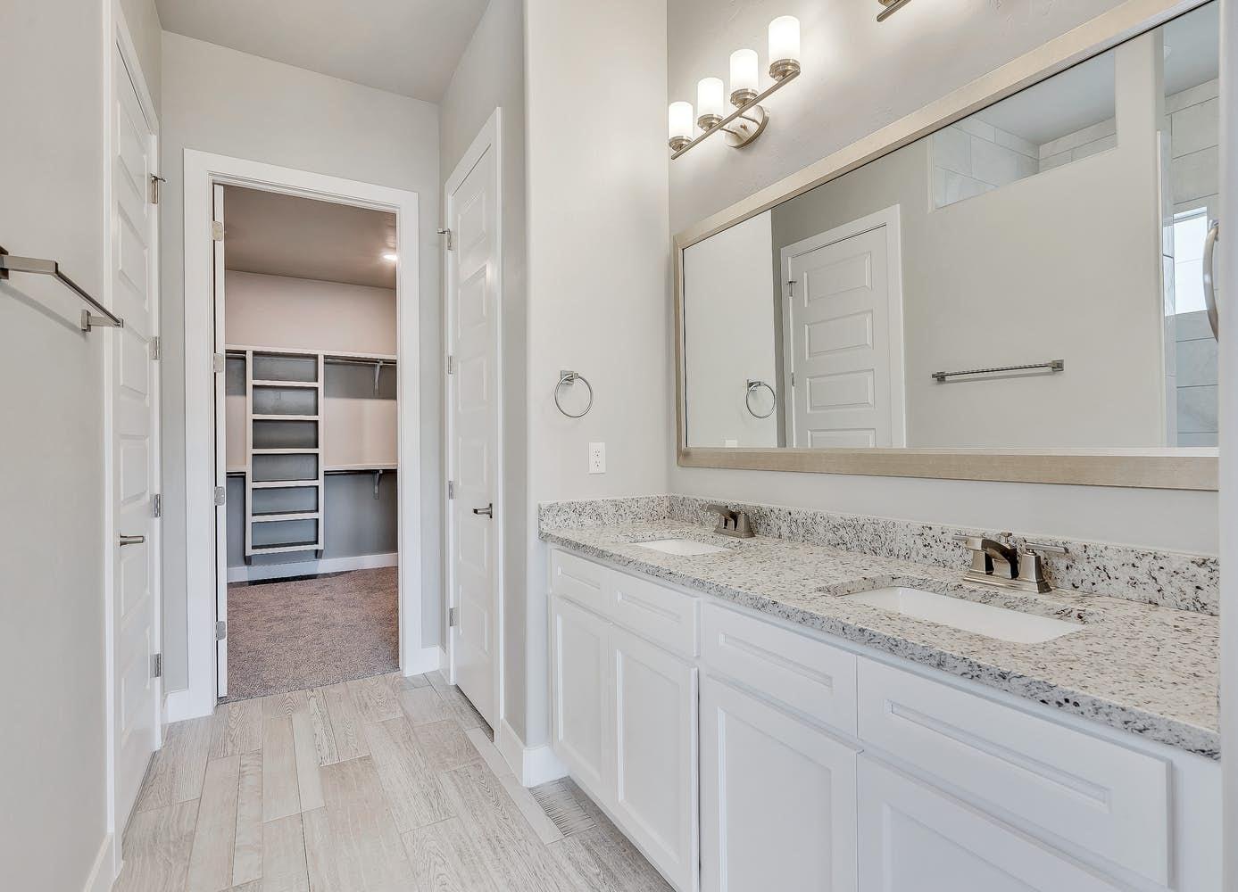 Bathroom featured in the Belize By View Homes El Paso in El Paso, TX
