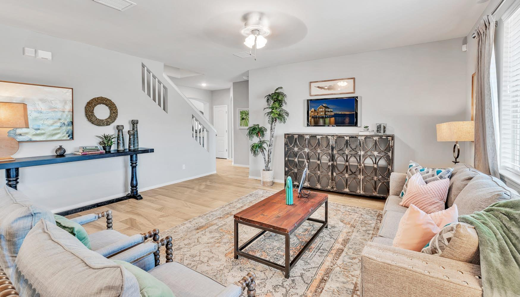 Living Area featured in the Larue By Las Cruces in Las Cruces, NM