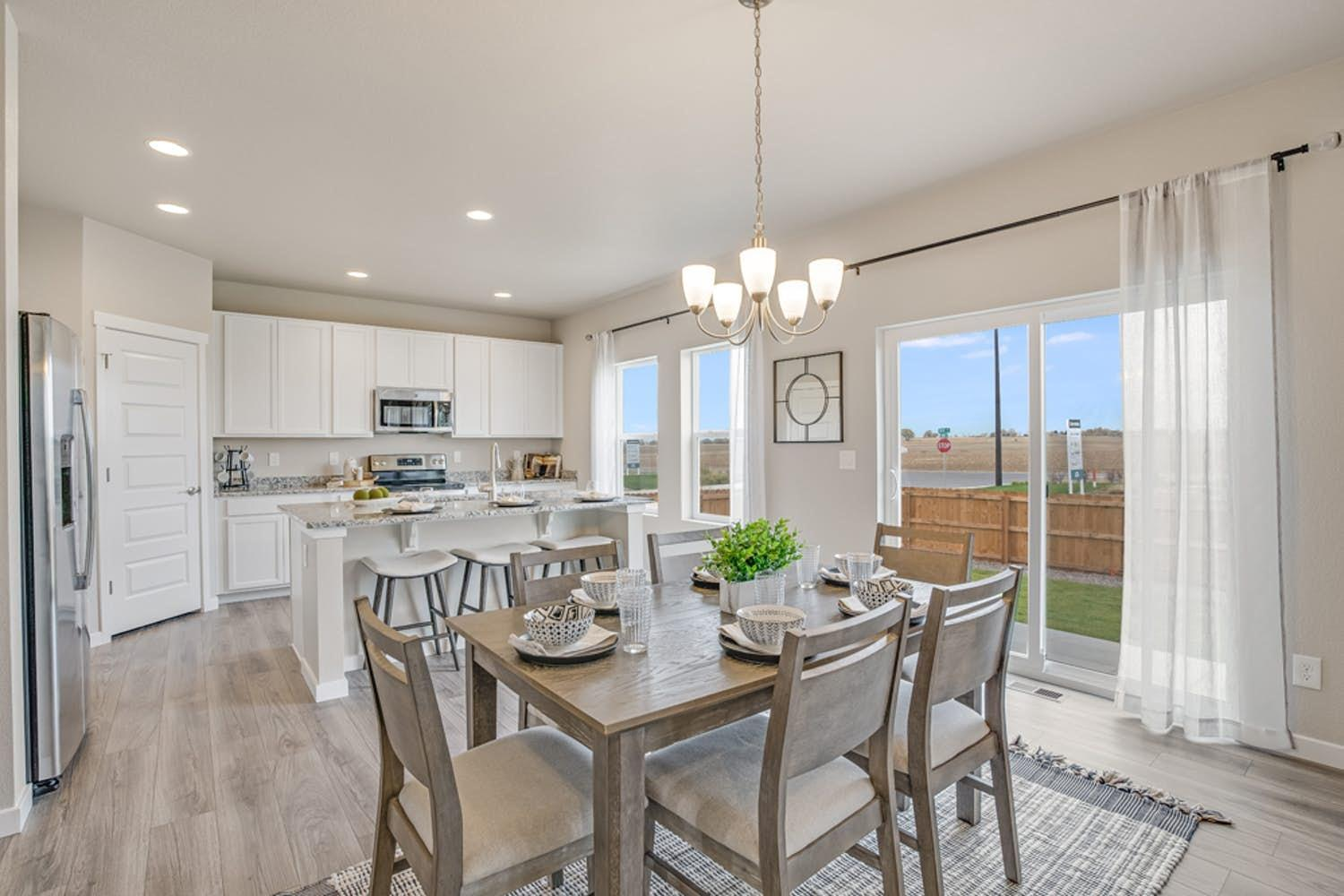 Kitchen featured in the Sonoma By View Homes Northern Colorado in Greeley, CO