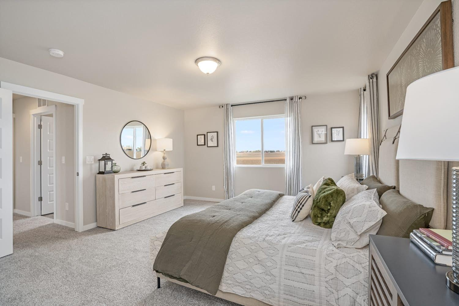 Bedroom featured in the Sonoma By View Homes Northern Colorado in Greeley, CO