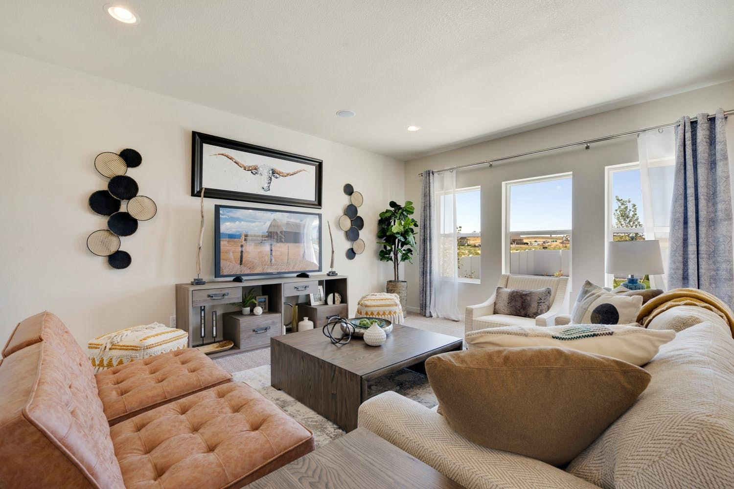 Living Area featured in the Ventura By View Homes Northern Colorado in Greeley, CO