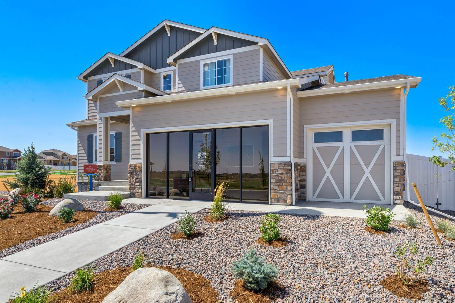 Exterior featured in the Ventura By View Homes Northern Colorado in Greeley, CO
