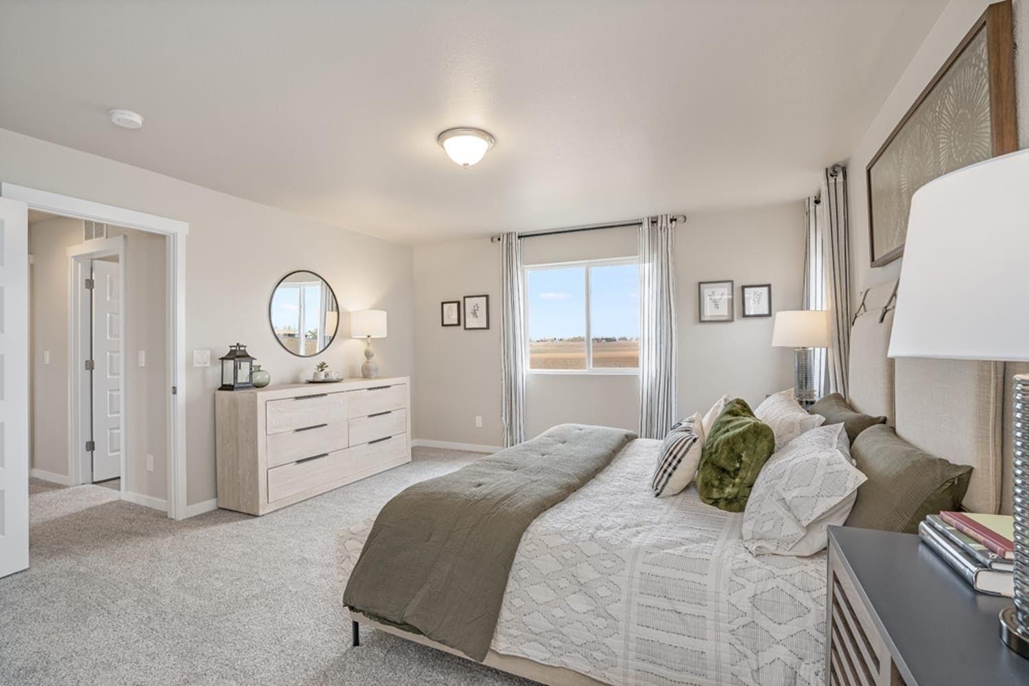 Bedroom featured in the Sonoma at Sorrento By View Homes Northern Colorado in Greeley, CO