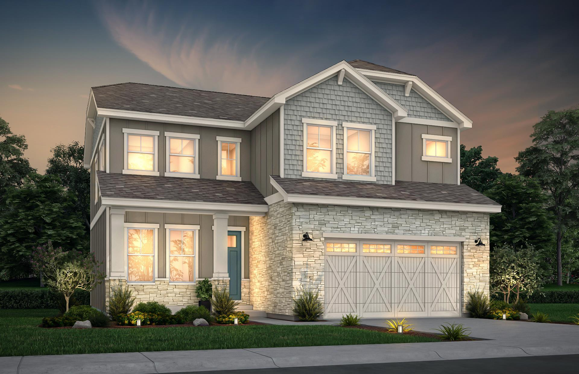 Exterior featured in the Beacon By View Homes Colorado Springs in Colorado Springs, CO