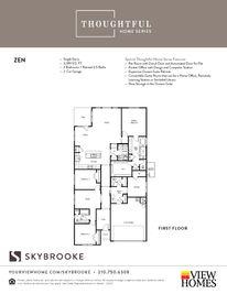 Zen - Skybrooke: San Antonio, Texas - View Homes San Antonio