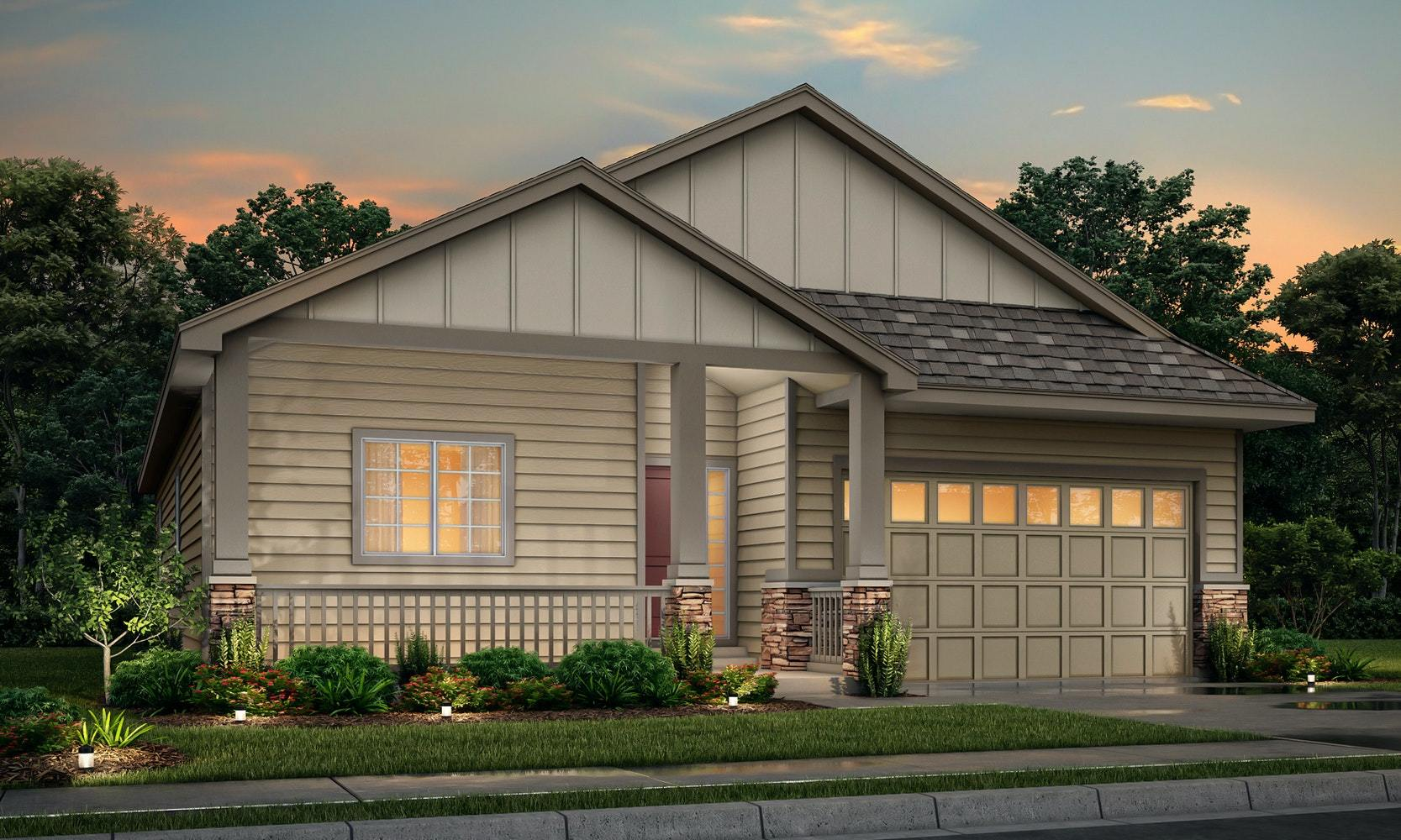 Exterior featured in the Newport By View Homes - Northern Colorado in Greeley, CO