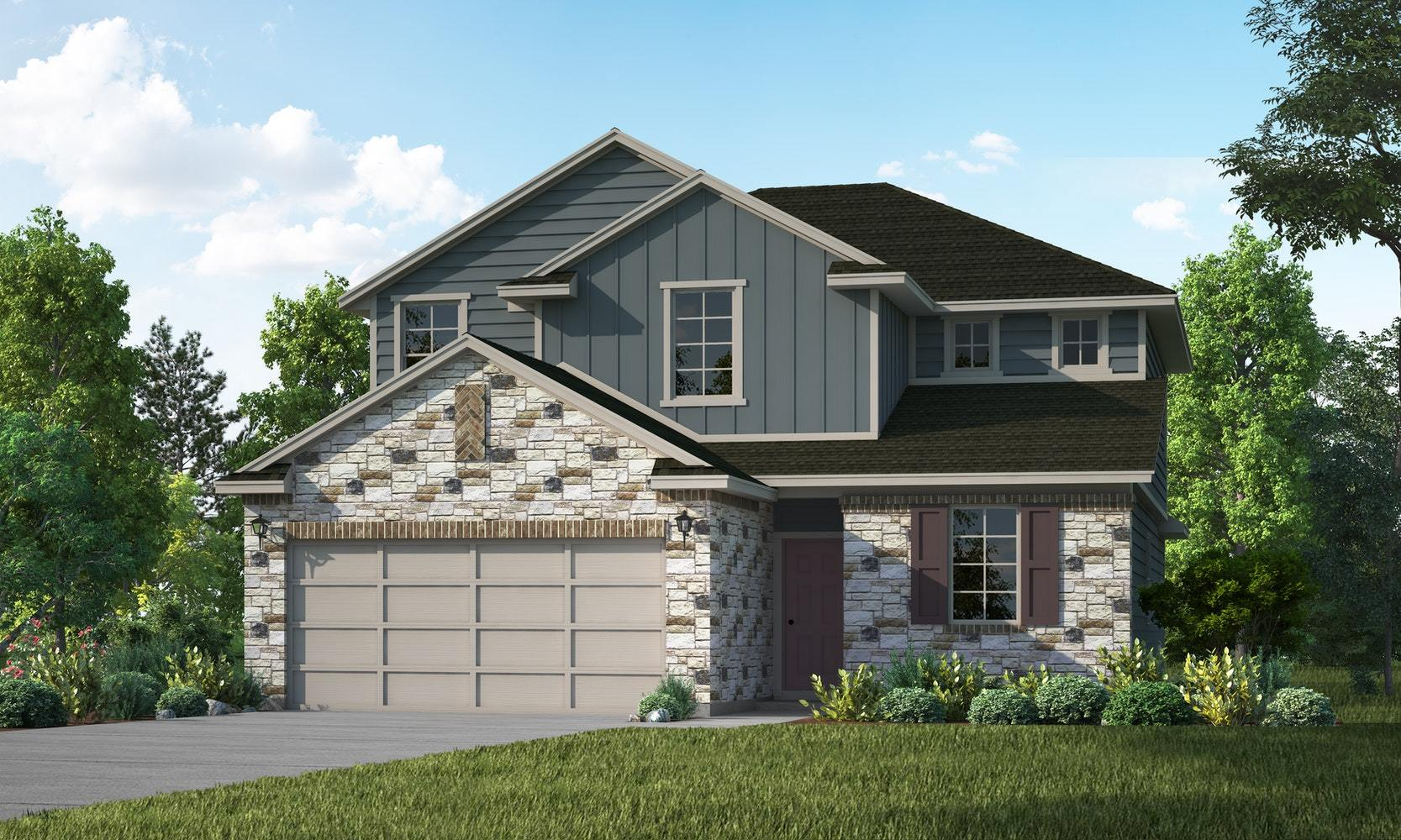Exterior featured in the Cypress By View Homes - San Antonio in San Antonio, TX