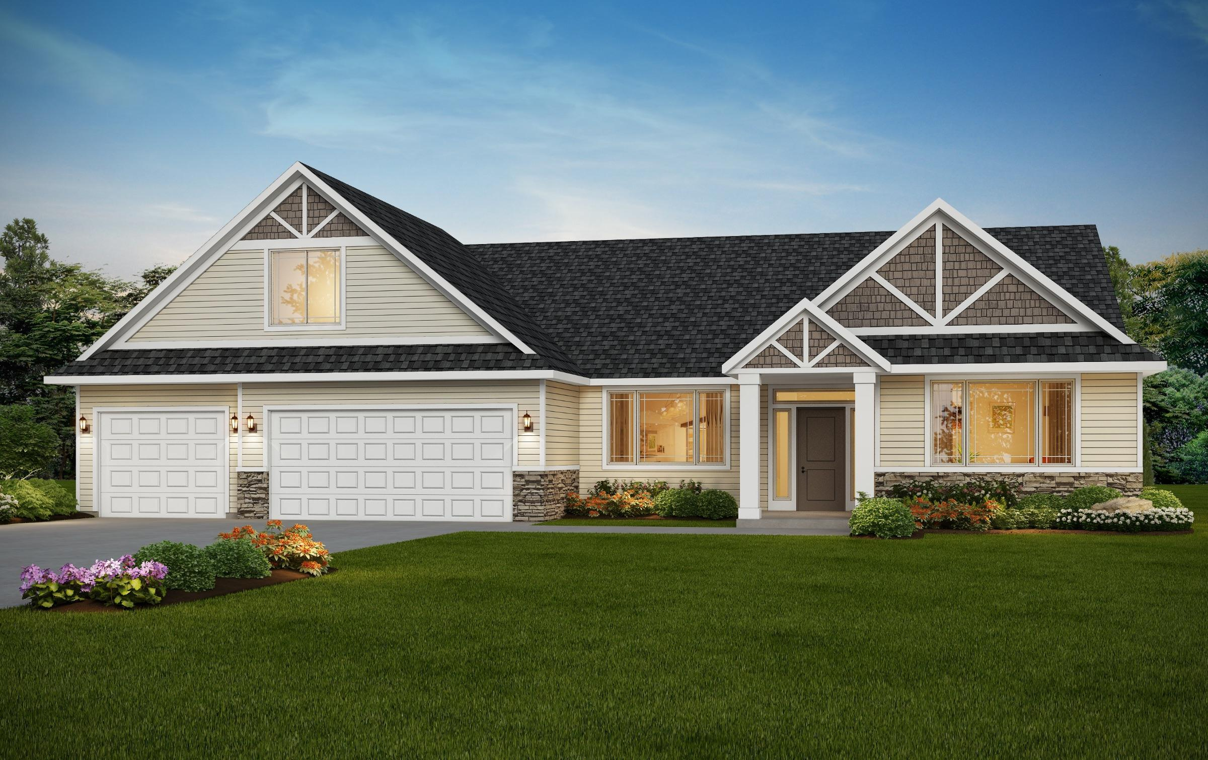 Exterior featured in The Victoria Bonus By RYN Built Homes in Spokane-Couer d Alene, WA
