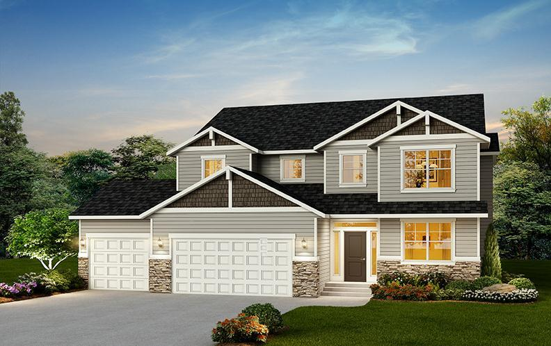 Exterior featured in The Savannah By RYN Built Homes in Spokane-Couer d Alene, WA