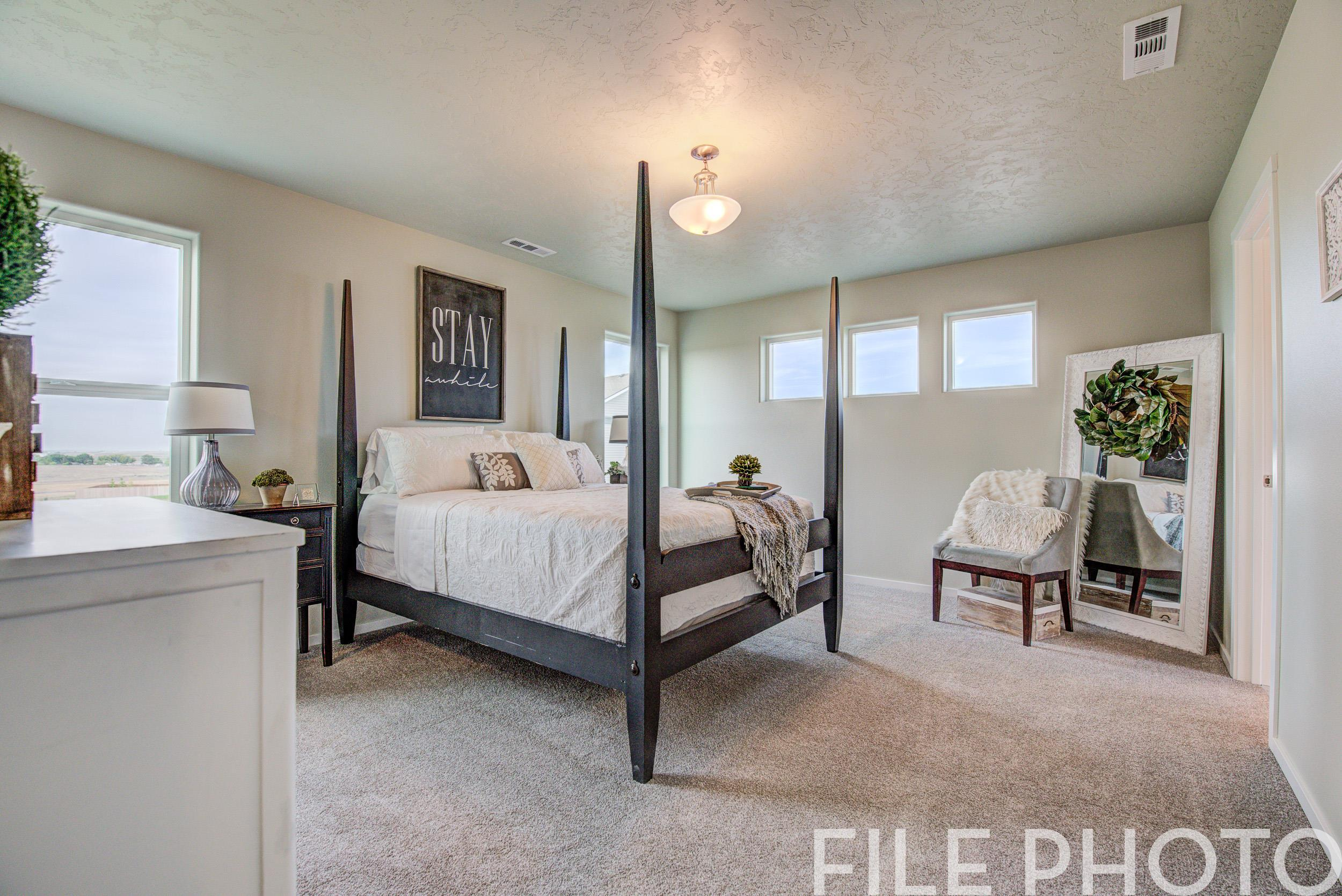 Bedroom featured in The Whistler By RYN Built Homes in Richland, WA