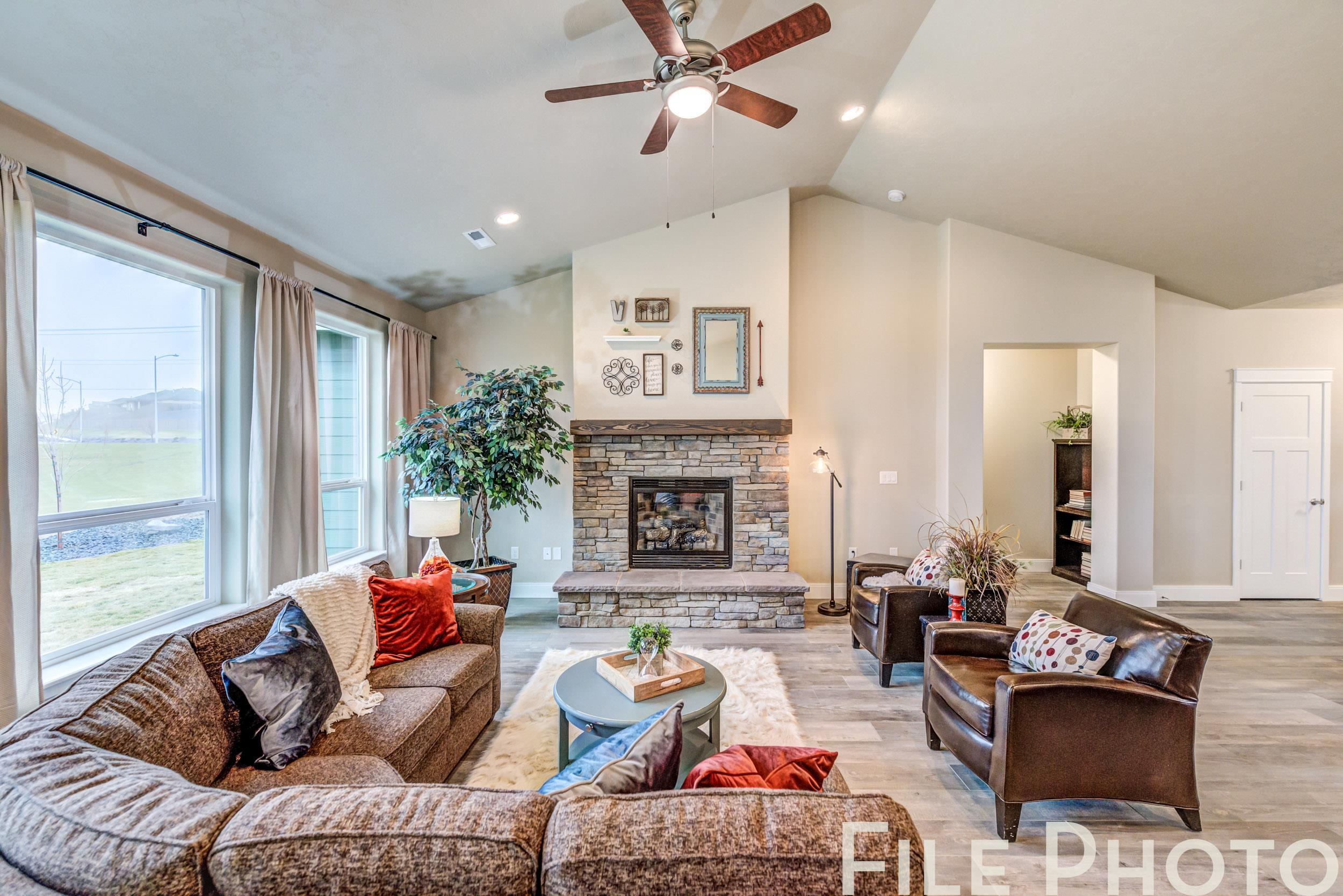 Living Area featured in The Victoria By RYN Built Homes in Richland, WA