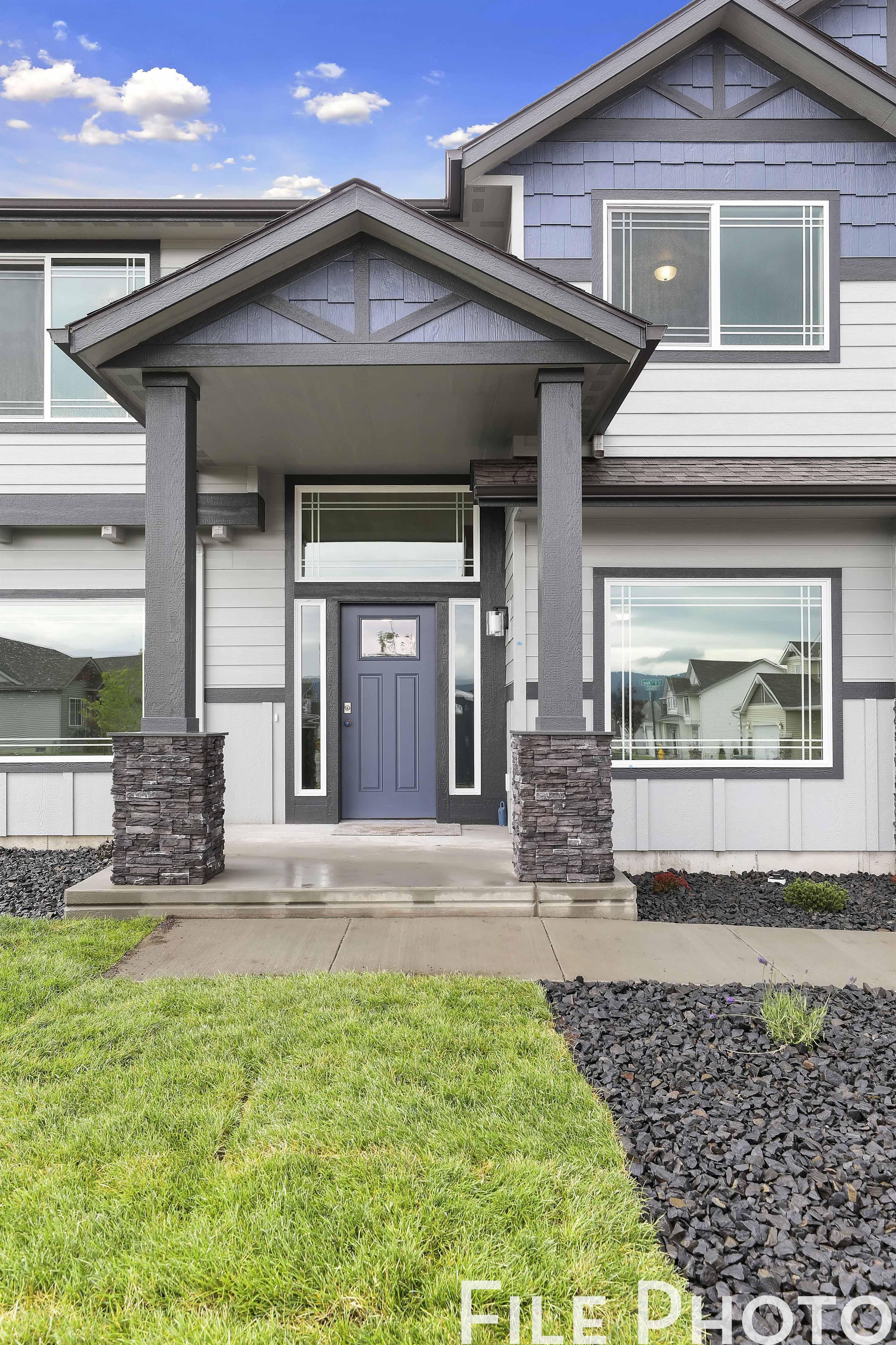 Exterior featured in The Safire By RYN Built Homes in Richland, WA