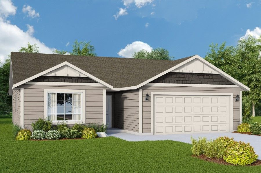 Exterior featured in The Cambridge 1416 By RYN Built Homes in Spokane-Couer d Alene, WA