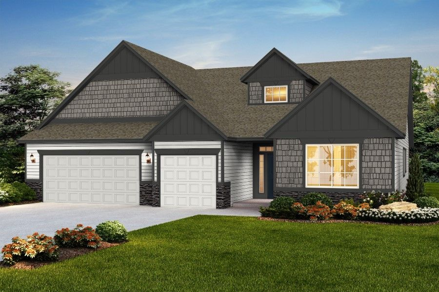 Exterior featured in The Valiant By RYN Built Homes in Richland, WA