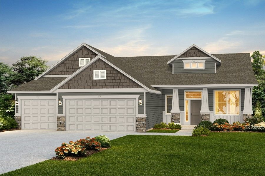Exterior featured in The Homestead By RYN Built Homes in Richland, WA