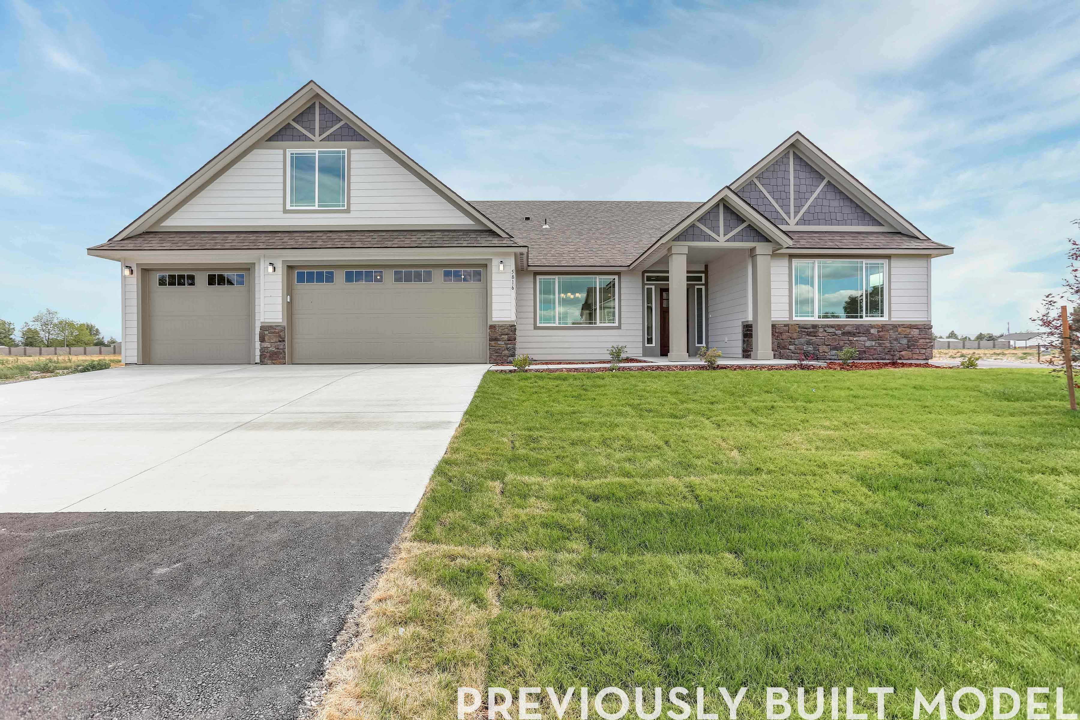 Exterior featured in The Victoria Bonus By RYN Built Homes in Richland, WA