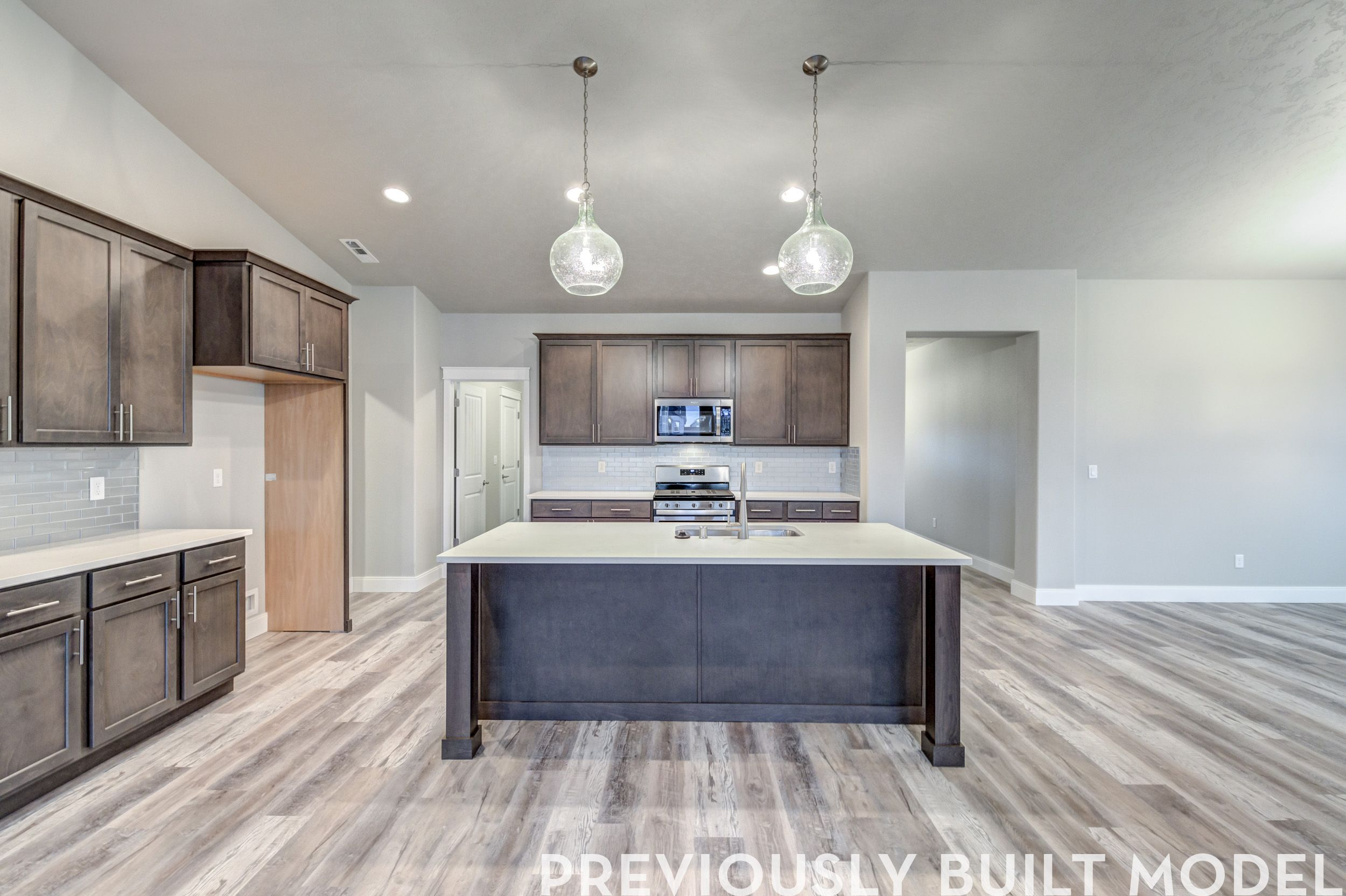 Kitchen featured in The Tully By RYN Built Homes in Richland, WA