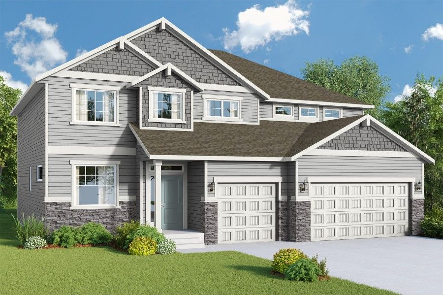 Exterior featured in The Olympia By Viking Homes in Spokane-Couer d Alene, ID