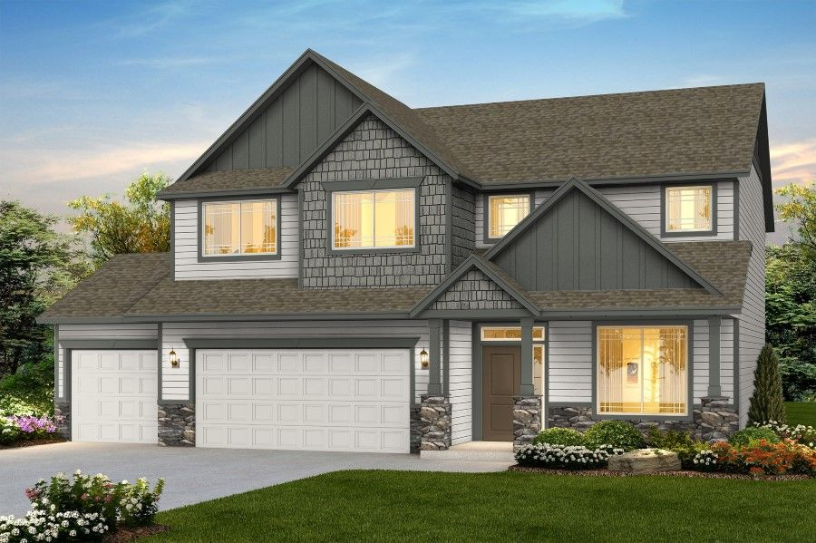 Exterior featured in The Teton By RYN Built Homes in Spokane-Couer d Alene, WA