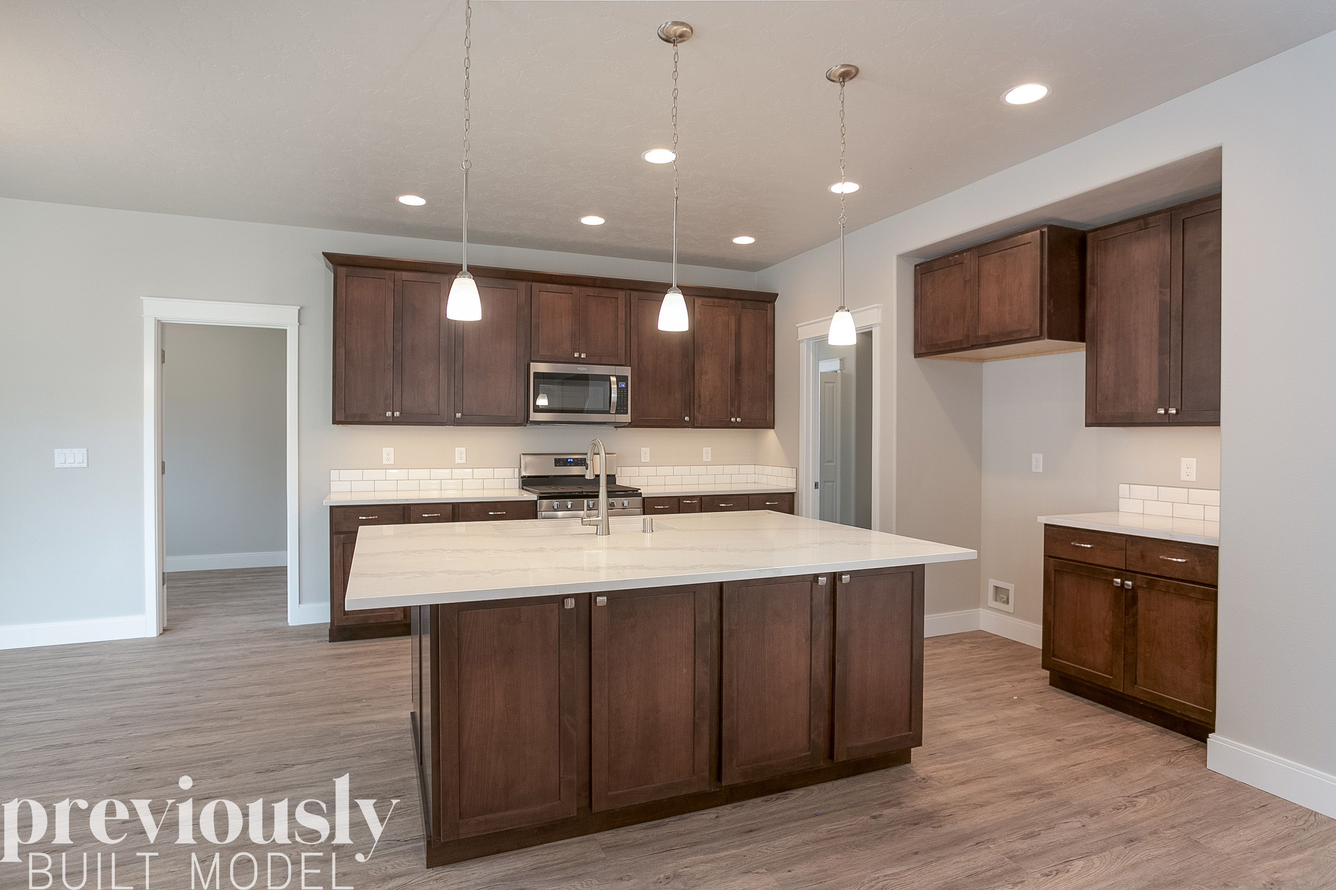 Kitchen featured in The Olympia By RYN Built Homes in Richland, WA