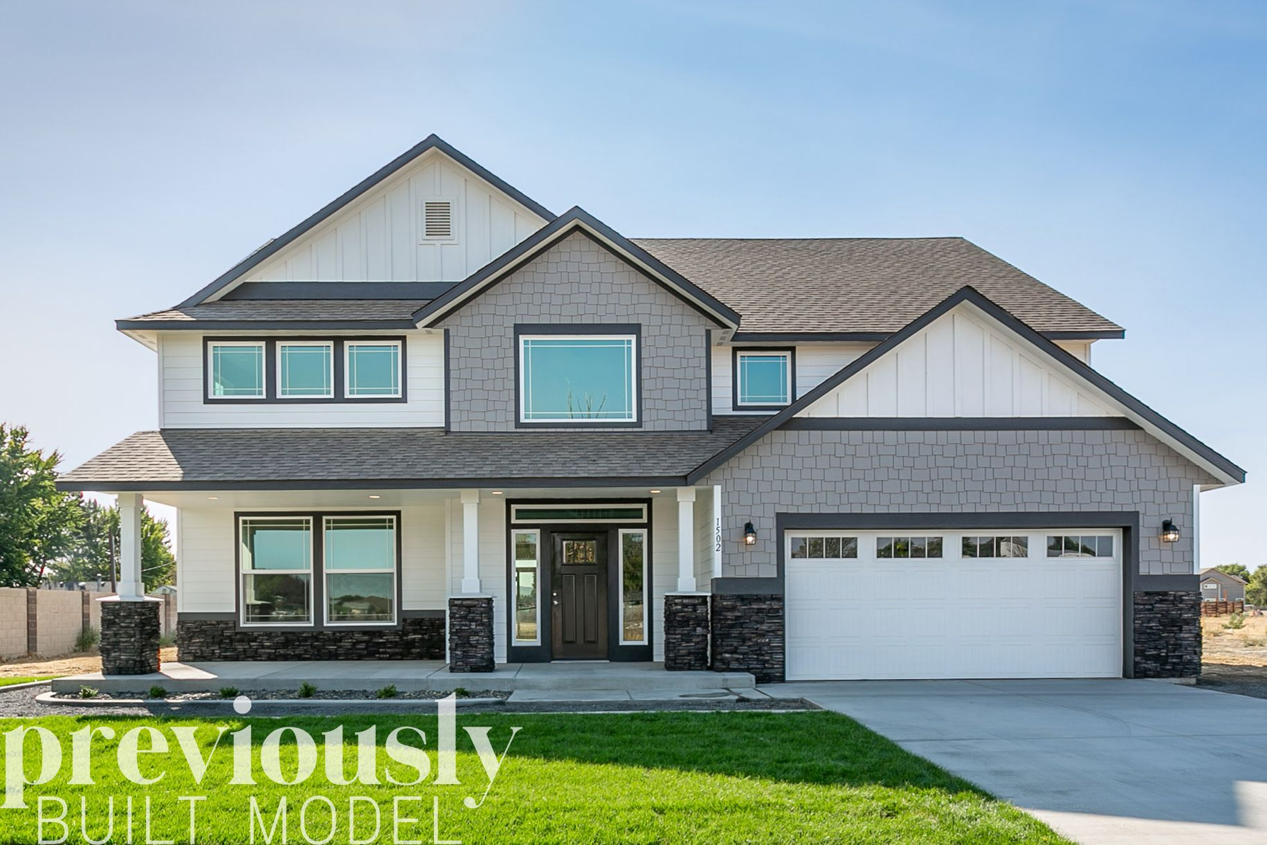 Exterior featured in The Retreat By RYN Built Homes in Richland, WA