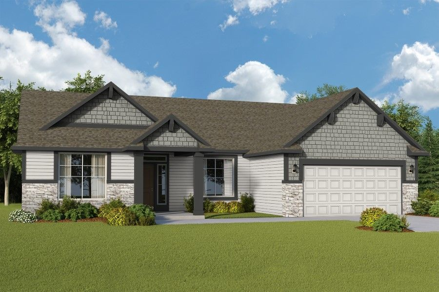 Exterior featured in The Tully By RYN Built Homes in Richland, WA