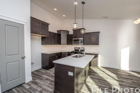 Kitchen-in-The Cambridge 1416-at-Montrose-in-Post Falls