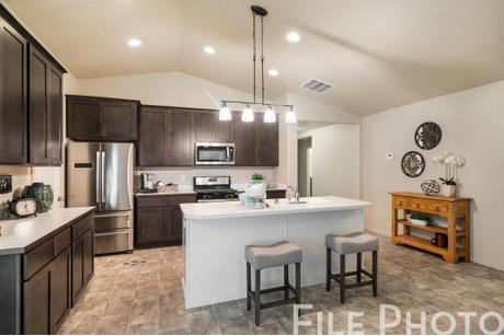 Kitchen-in-The Carolina-at-Montrose-in-Post Falls