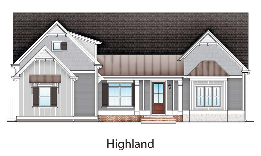 Exterior featured in The Highland By Village Park Homes in Savannah, GA