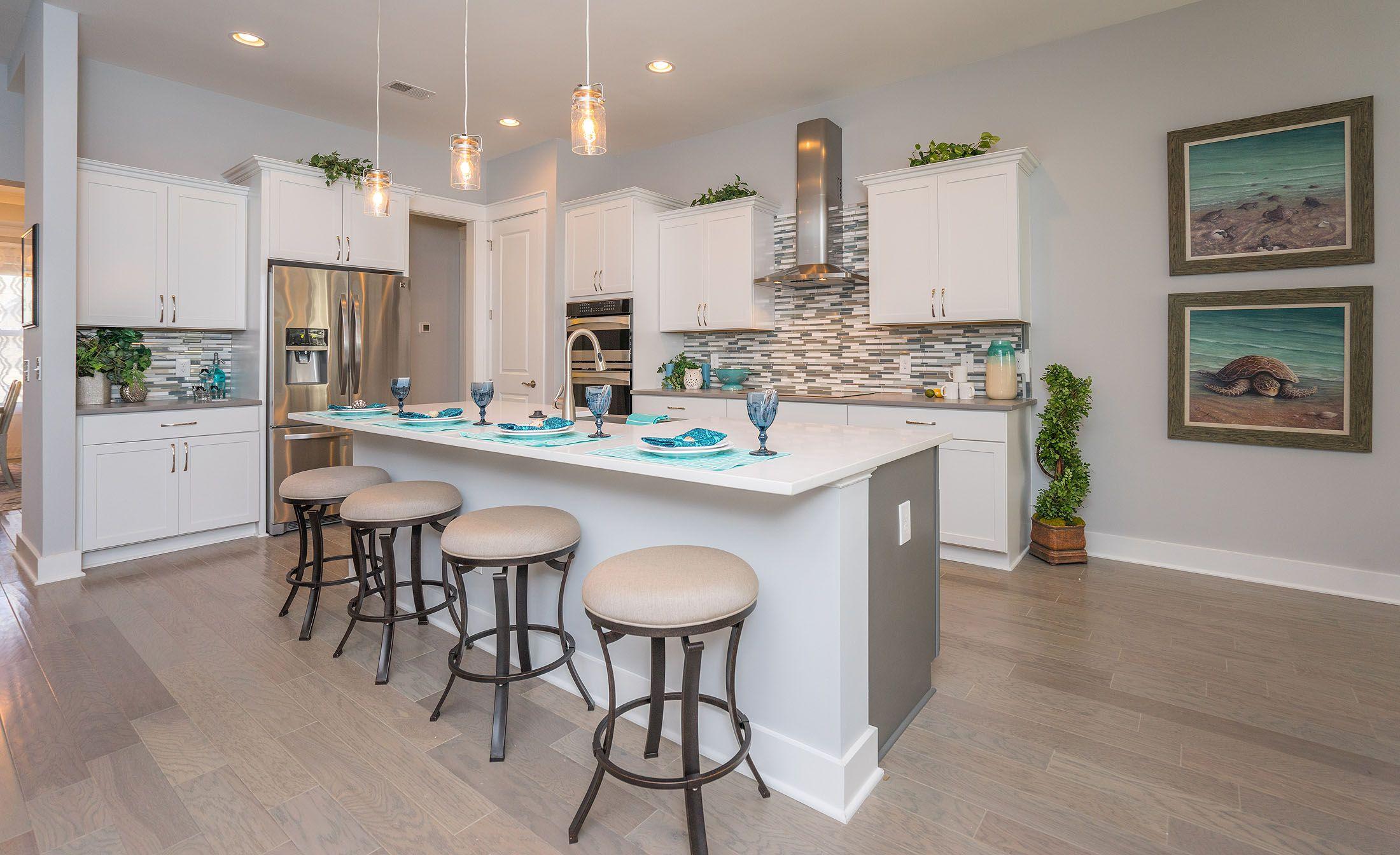 Kitchen featured in The Pinehurst By Village Park Homes in Savannah, GA