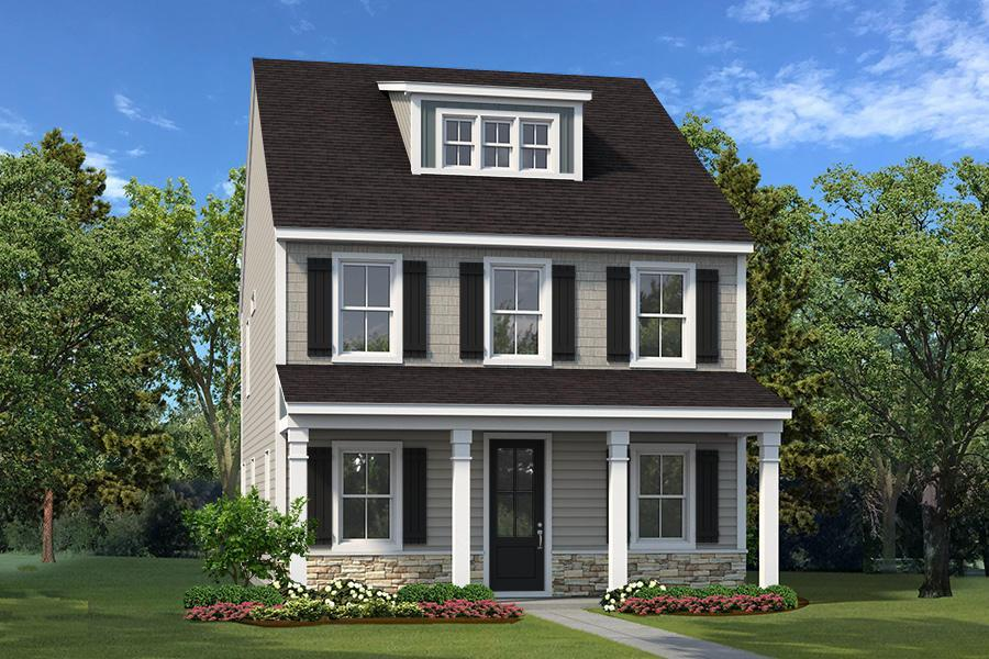 Exterior featured in The Chippewah II By Village Park Homes in Hilton Head, SC