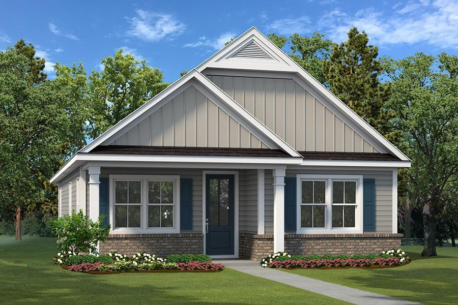 Exterior featured in The Hampton II By Village Park Homes in Hilton Head, SC