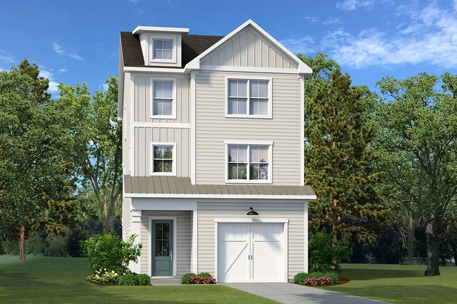 Exterior featured in The Daffin By Village Park Homes in Hilton Head, SC