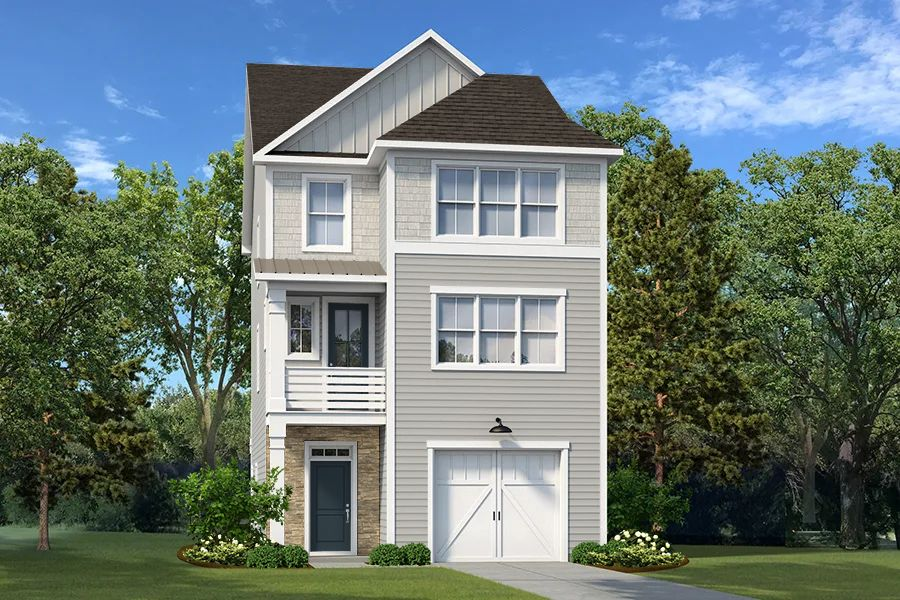 Exterior featured in The Hartwell By Village Park Homes in Hilton Head, SC