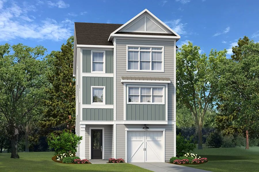 Exterior featured in The Redcliffe By Village Park Homes in Hilton Head, SC