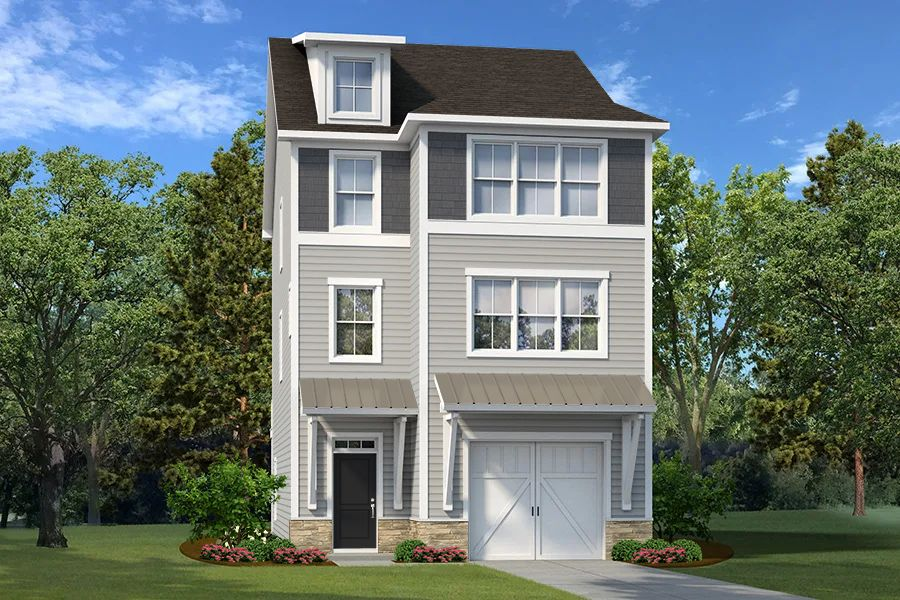 Exterior featured in The Lanier By Village Park Homes in Hilton Head, SC