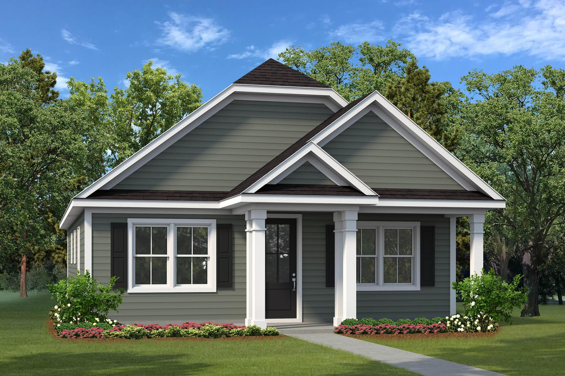 Exterior featured in The Ridgeland By Village Park Homes in Hilton Head, SC