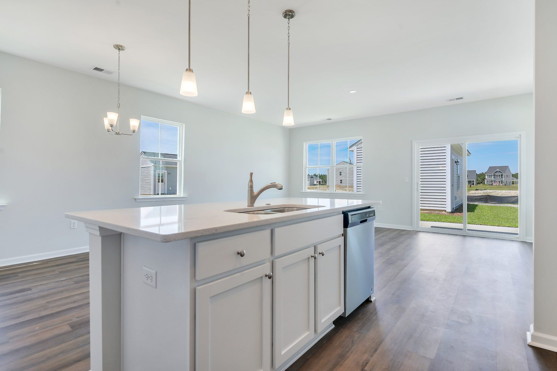 Kitchen featured in The Helmsley By Village Park Homes in Hilton Head, SC